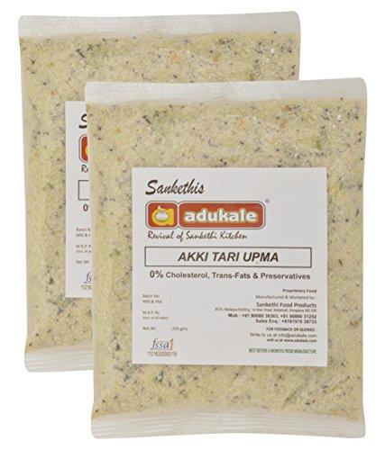 Adukale Akki Tari Upma Mix, 250 grams (Set of 2)