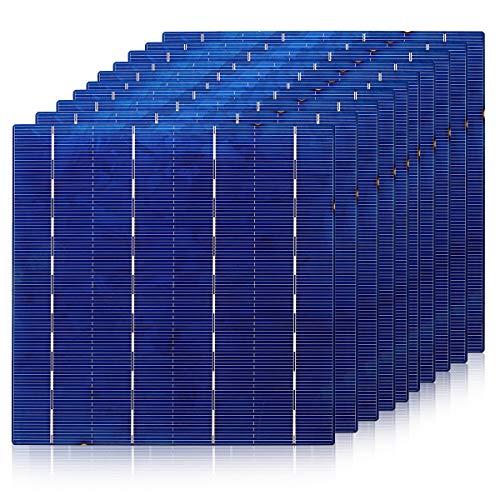 """Especificación:   Color: azul  Potencia: 7w  Voltaje: 0.5v  Actual: 9500ma  Eficiencia: 17%  Material: silicio policristalino  Tamaño: (L) X (W) 156X156mm / 14''X14 """" (aprox.)   Características:   Excelente efecto de luz débil  Diseño ligero y port..."""
