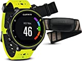 Garmin Forerunner 230HR GPS Running Watch with Heart Rate Chest Strap–16hours battery life, Smart Notifications