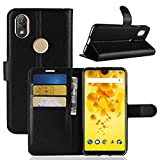 ECENCE Wiko View 2 Phone Case Cover Wallet Flip Magnet Bag