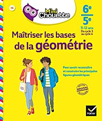 Mini Chouette Maîtriser les bases de la géométrie 6e/ 5e: cahier de soutien en maths (cycle 3 vers cycle 4)