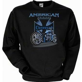 Sweatshirt: American original Choppers (Größe: XL), Farbe:Schwarz;Größe:XL