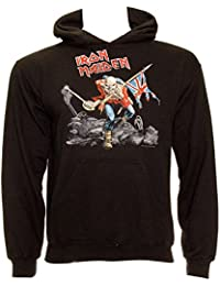 Official IRON MAIDEN Hoody/Hoodie Metal TROOPER Logo Pullover All Sizes