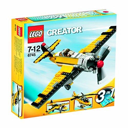 LEGO Creator 6745 - Gelbe Flieger (Lego City Jet)