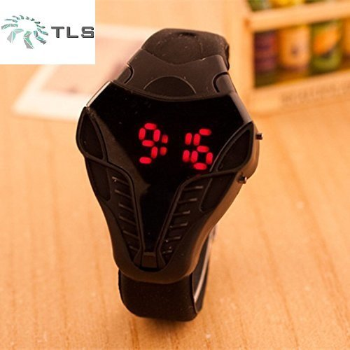 TLS Cobra LED Silicone Digital Men's & Kids Watch With 6 Months Warranty