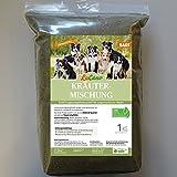 1 kg LuCano BARF Kräuter - Mischung | Futterergänzung für Hunde
