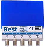 DiseqC-Schalter 4/1 Best-Germany mit Wetterschutzgehäuse