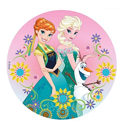 Dekora 231270 Disney Frozen Tortenaufleger aus Esspapier, bunt