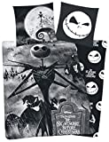 Nightmare Before Christmas Jack Copripiumino nero