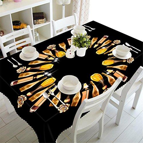 cke Personalisiertes Puzzle Drucken Staubdicht Tischdecke Party Abendessen Essen Dekorativ Verschiedene Größen Waschbar , c (Personalisierte Tischdecken)