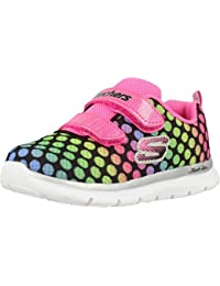 86783980 Skechers Girls Skech-Lite Lil Polka Dots Athletic Trainers Shoes