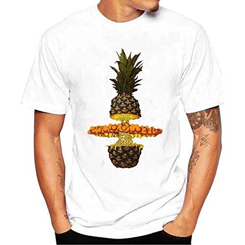 ZODOF algodón Camiseta Muscle Ocasional Hombres Hermoso