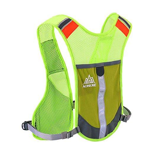 AONIJIE Outdoor Trekking dello zaino di idratazione maratona zaino Maschio Leggero Vest Arrampicata Ciclismo Backpack