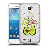 Head Case Designs Avocuddle Alles Ueber Avocados Soft Gel Hülle für Samsung Galaxy S4 Mini I9190