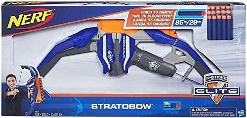 Nerf - Arco lanzadardos Elite Stratobow...