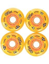 Hyper Rollen für Inlineskates Pro 250 - Ruedas para patines en línea ( 76 mm ) , color naranja, talla 76