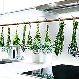 Küchenrückwand Kräuter Büschel Premium Hart-PVC 0,4 mm selbstklebend 280x80cm
