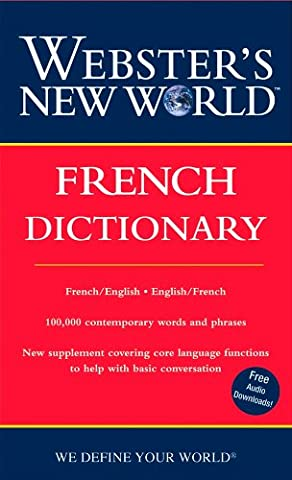 Webster's New World French Dictionary (2nd Ed): French/English English/French (English French Dictionary)