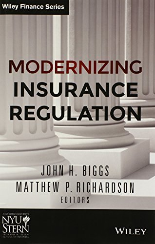 Modernizing Insurance Regulation (Wiley Finance) 1st edition by Biggs, John H., Richardson, Matthew P. (2014) Hardcover
