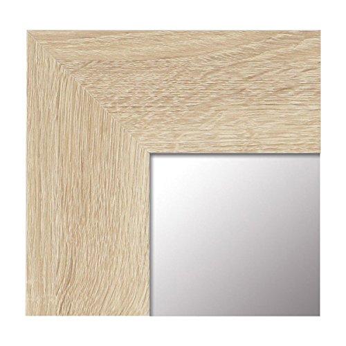 -Espejo Fabricado en España- tamaño 65x165 cm. Espejo Decorativo de Pared Modelo 187 Haya,...
