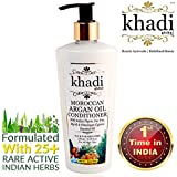 (Limited Introductory Offer) Khadi Global Argan Oil Conditioner with Indian Thyme, Tea Tree & Myrrh Essential Oil 25+ Natural Extracts & Essential Oils 250ml / 8.45 fl.oz| Premium Anti Frizz & Anti Tangle Formulation | 100% Safe For All Hair Type