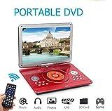 KOQIO Lecteur DVD Portable 14,1 Pouces, écran pivotant à 270 degrés, Prise en...
