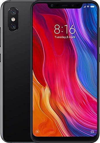 """Xiaomi Mi 8 - Smartphone de 6.21"""" (Octa-Core Kryo 2.8 GHz, RAM de 6 GB, Memoria de 128 GB, cámara de 20 MP, Android 8.0) Color Negro [Versión española]"""