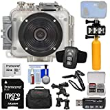 Intova Connex 1080P Hd 60M/200Ft Waterproof Video Action Camera Camcorder with 32Gb Card