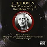 Beethoven : Concerto pour piano n° 5, l'empereur, symphonie n° 4