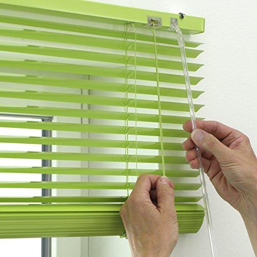preisvergleich gardinia alu jalousie sicht licht und blendschutz willbilliger. Black Bedroom Furniture Sets. Home Design Ideas