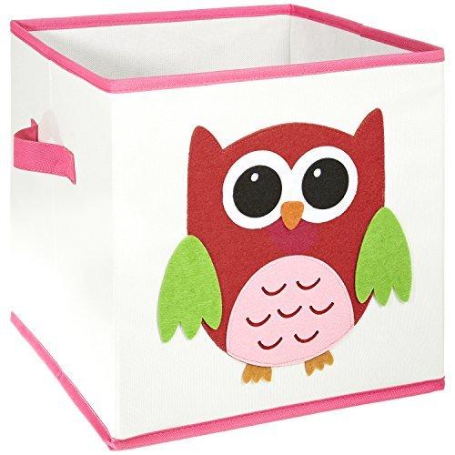 *FABELBUNT® faltbare Spielzeugkiste mit versch. Tiermotiven und viel Stauraum (30x 30x 30cm)*