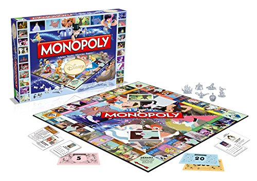 Disney Classic Board Game Monopoly *French Version* Winning Moves