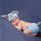 Swallowuk Baby Strickenkleidung Fotografie Kleidung Foto-Shooting Neugeborene Baby Kostüm Babykleidung (7)