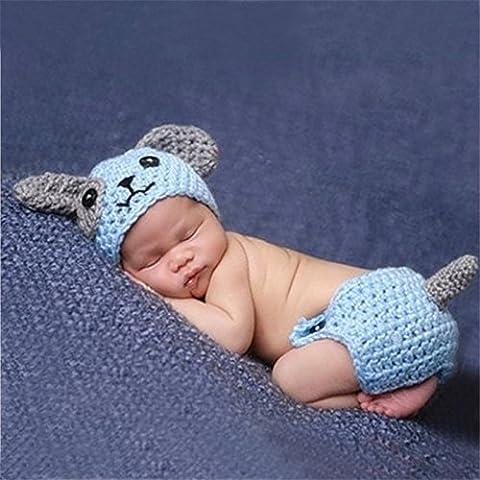 Swallowuk Baby Strickenkleidung Fotografie Kleidung Foto-Shooting Neugeborene Baby Kostüm Babykleidung (Baby-0-6 Monate Kostüme)