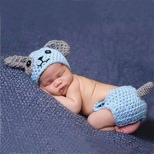 Swallowuk Baby Strickenkleidung Fotografie Kleidung Foto-Shooting Neugeborene Baby Kostüm Babykleidung - Kostüm Foto Shooting