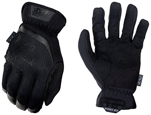 Mechanix Herren FastFit Tactical Touch Handschuhe, schwarz (Covert), Large