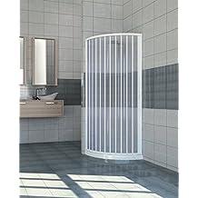 Extensible PVC puerta ducha cuadrante abertura lateral 70/80