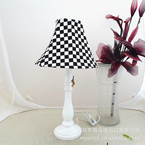 SAEJJ-Hotel nero e bianco in resina lampada da (Contemporanea Per Porte Scorrevoli)