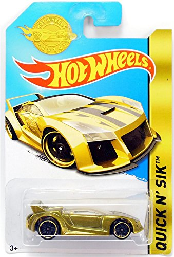 Hot Wheels 2014 Hw City Speed Team Blue Quick N' Sik 32/250 by Hot Wheels