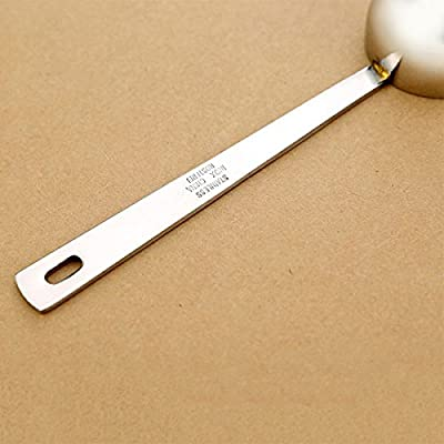 Hrph New 15ml Stainless Steel Coffee Spoon Table Decoration Christmas Cute Children Originality Gifts Milk Powder Spoon produced by Hrph - quick delivery from UK.