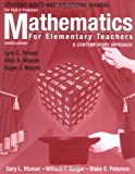 Mathematics for Elementary Teachers, Hints and Solutions Manual for Part A Problems: A Contemporary Approach by Gary L. Musser (2005-01-13)
