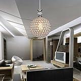 Moderne LED Kristalllampe LED Lampe für Wohnzimmer Büro I E27 Fassung I Schlafzimmer Kinderzimmer Arbeitszimmer Deckenlampe Flur