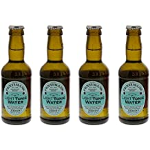 Fentimans Botanically Brewed Light Tonic Water 4 x 200ml