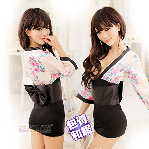 Roleeplay Damenwäsche einheitliche Cosplay Japan kurz Kimono japanische Kimono Anzug eng Schlafanzug, Bademantel, (Kostüme Kostenlos Krankenschwester)