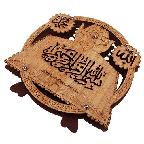 Homyl Muslim Islam Koran Ornament Hölzerne Wohnmöbel Tisch Dekor