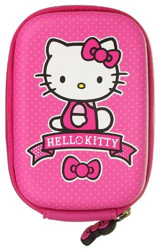 Hello Kitty Universal Kameratasche für Kamera und Smartphone - Polka Dot Pink Hello Kitty Kamera