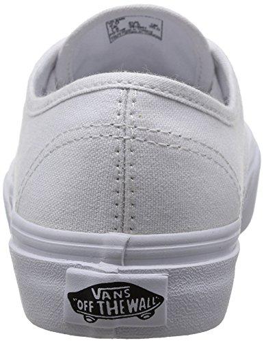 Vans K Authentic, Baskets mode mixte enfant Blanc (True Wht)