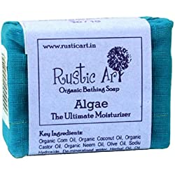 Rustic Art Organic Algae Soap 100 grams