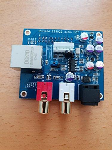 PINE64 Audio/NIC Head Board für Rock64 Stereo Audio und Fast Ethernet