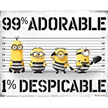 Mini Poster Mi Villano Favorito 3 99% Adorable 1% Despicable